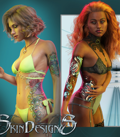 SkinDesignS for Genesis 3 and 8 Females