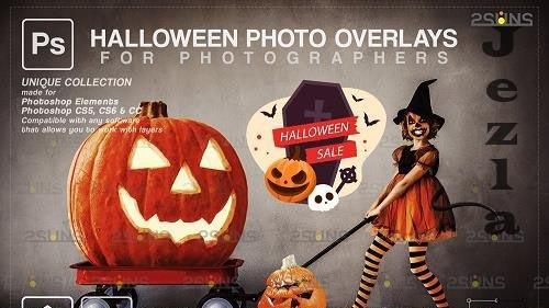 Halloween clipart Halloween overlay, Photoshop overlay V1- 1583901
