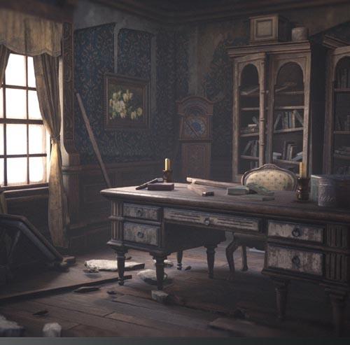 Abandoned Mansion Fully Modular Asset Pack