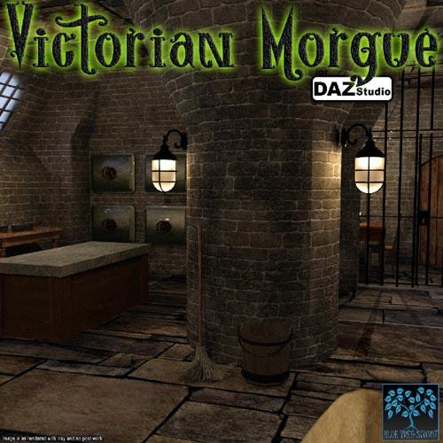 Victorian Morgue for Daz|Studio