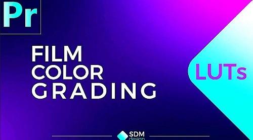 Film Color Luts + Music - Premiere Pro Presets