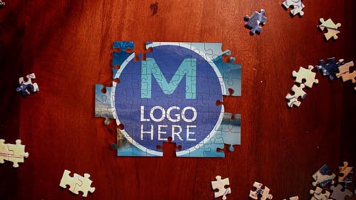 Videohive - Puzzle Logo Reveal - 31660699