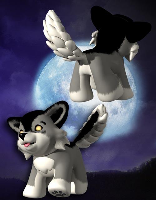 Toon Animals: Wolf