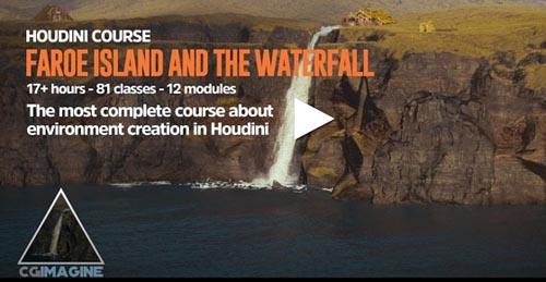 CGCircuit - The Faroe Islands in Houdini