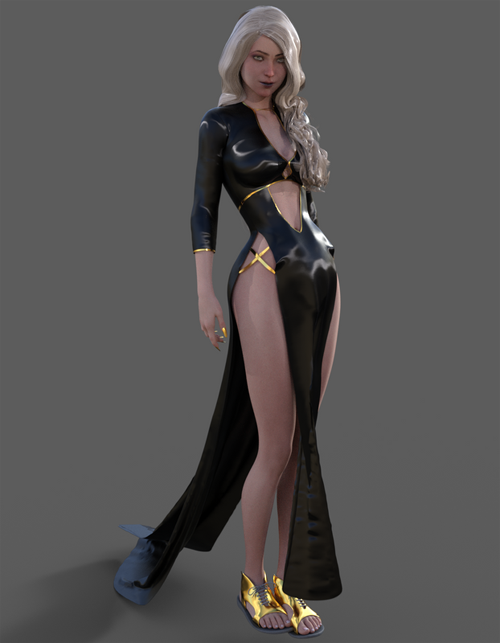 gothic dress g8f