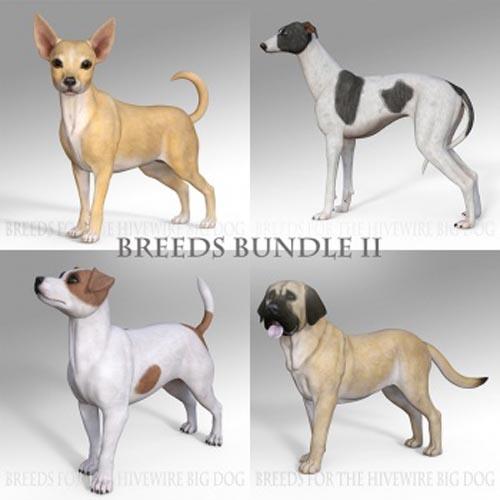 Breeds for the HW Dog - Bundle II