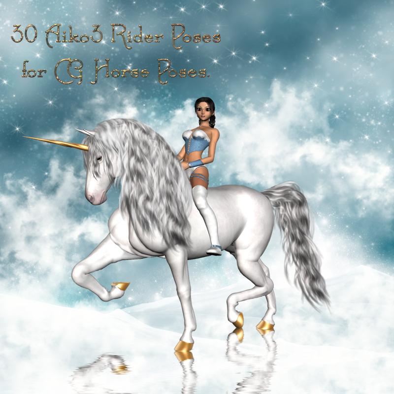 CG A3 Rider Poses
