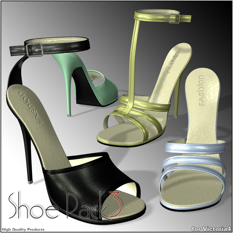 Shoe Pack3 for V4