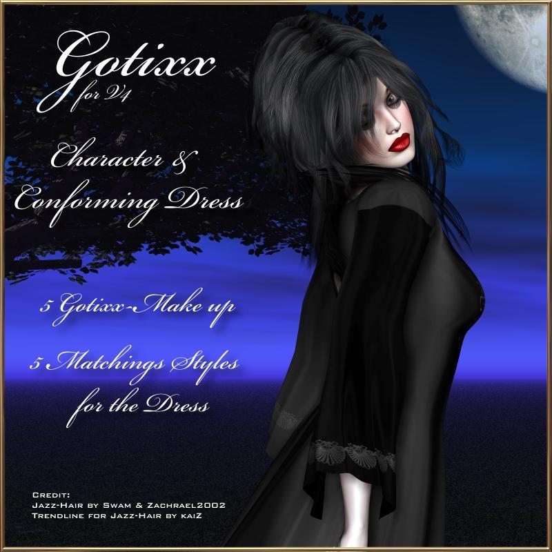 Gotixx & Dress for V4