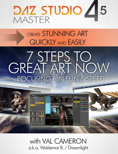 [Tutorial] The 7 Steps To Great Art Now