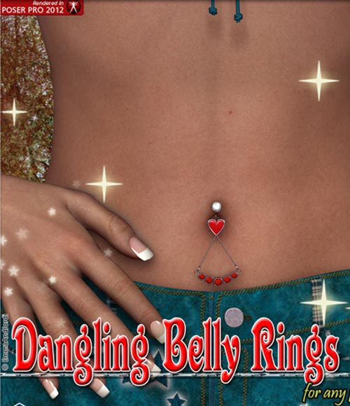 Dangling Belly Rings For Any Figure