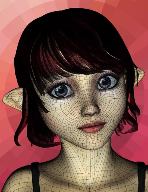 Genesis Aiko 5 Head Morph Resource Kit