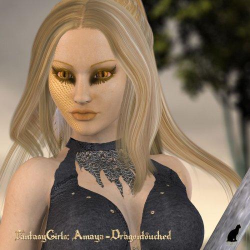 Fantasy Girls: Amaya - Dragontouched
