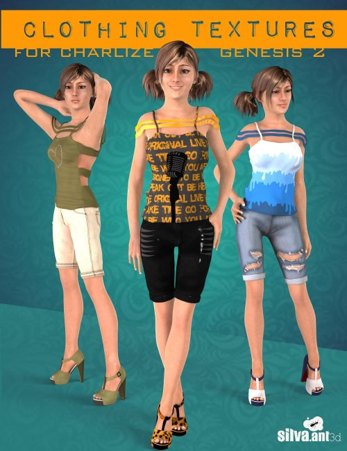 Clothing Textures for Charlize