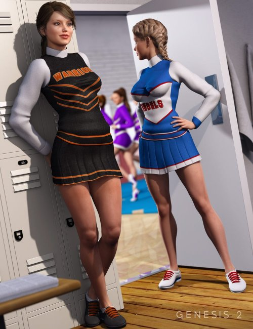 Cheerleader Textures