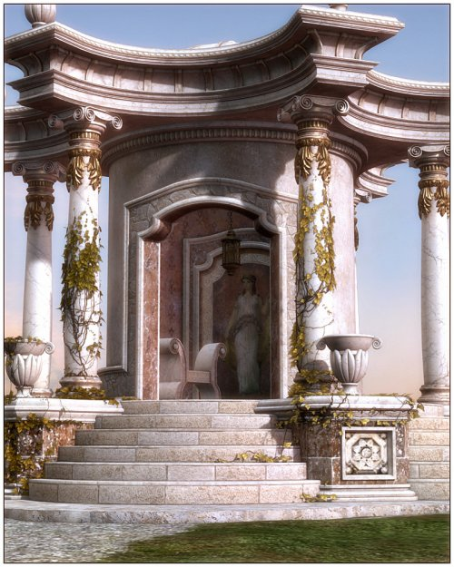 Palladio - Roman Props & Scene