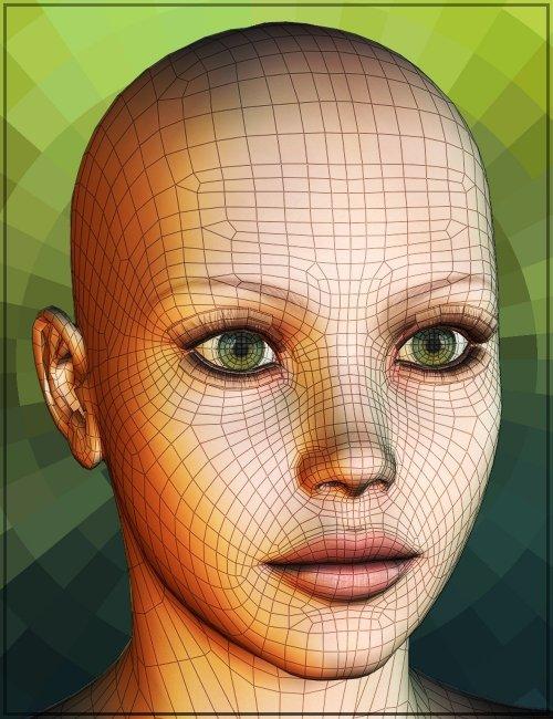 Genesis Head Morph Resource Kit 4