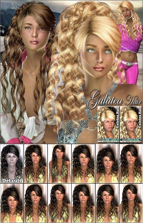 HOT!!! Galatea Hair