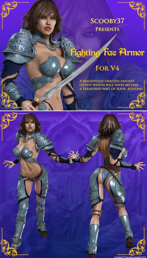 Fighting Fae Armor for V4