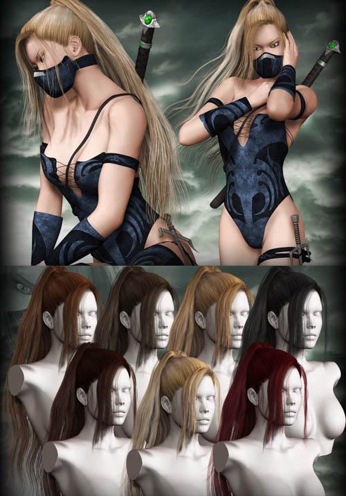 Fantasy Warrior Hair