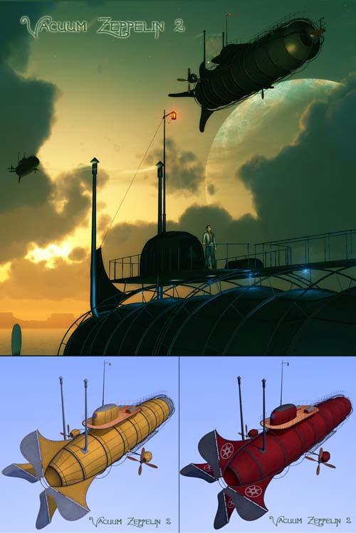 Vacuum Zeppelin 2