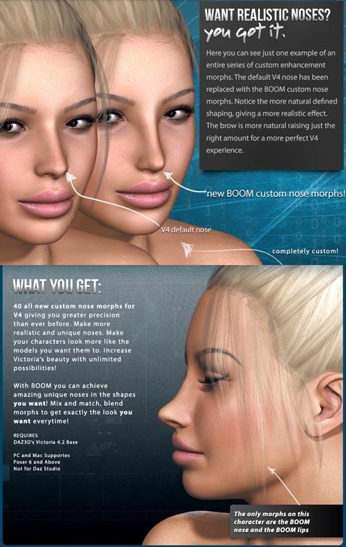 i13 BOOM Nose System for V4