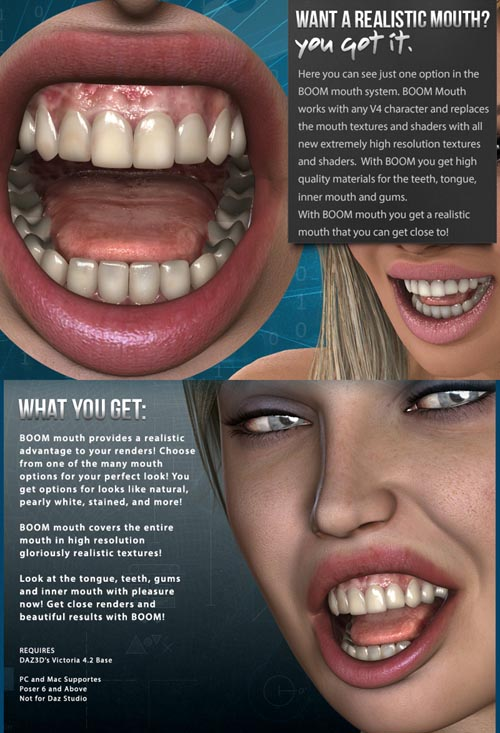 i13 BOOM mouth
