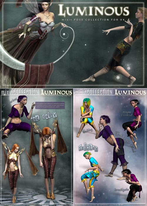 i13 Luminous Pose Collection