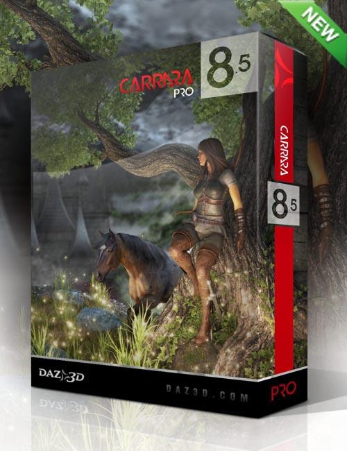Carrara 8.5 Pro Win/OsX - 64bit