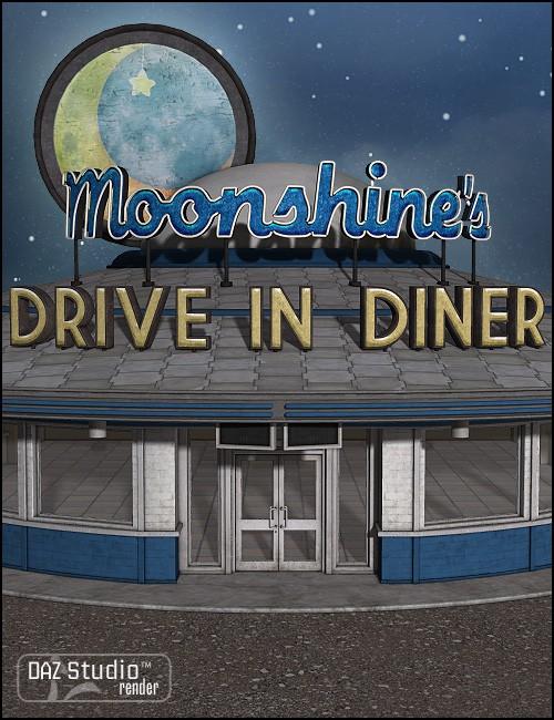 Moonlit Moonshine's Diner