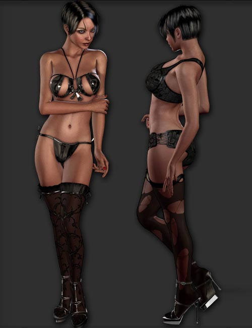 Lingerie Wardrobe for V4.2 Elite-Aiko4-GND4 (16 Figures)