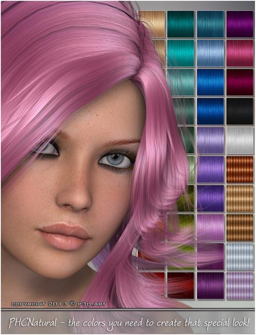 PHC Natural - Leiko hair