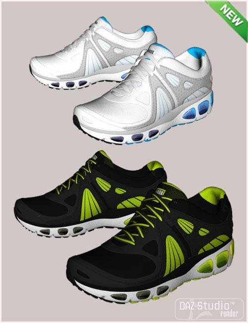 Running Shoes for Genesis 2 Female(s) and Genesis