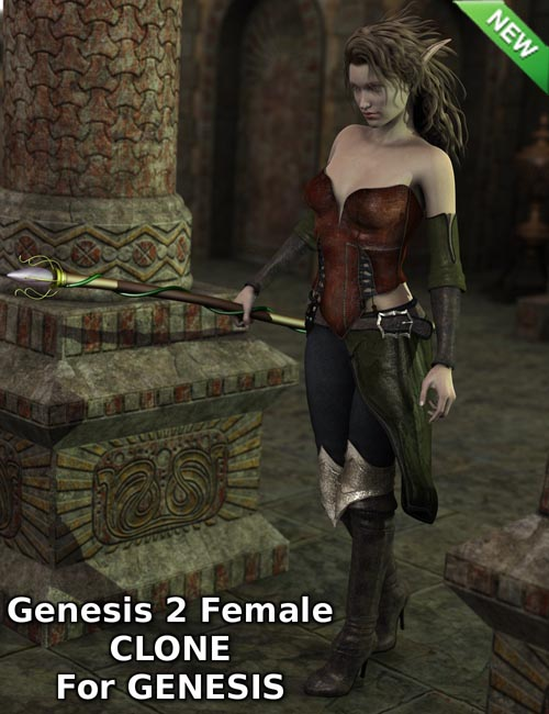Genesis 2 Female Clone for Genesis