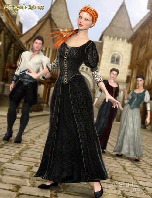 Fairytale Dress for Genesis