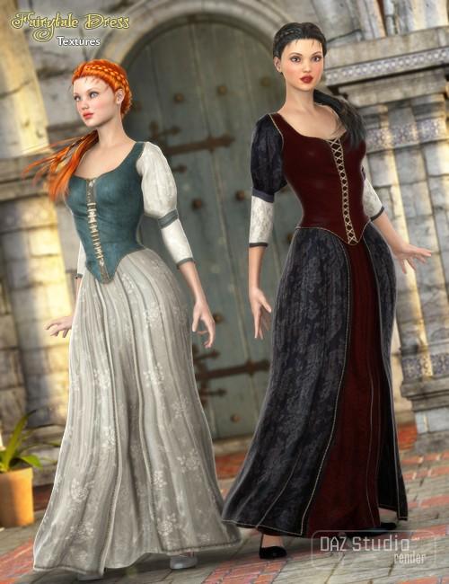Fairytale Dress Textures