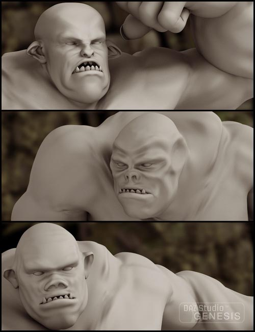 Wicked Skullcrusher Ogre Morphs