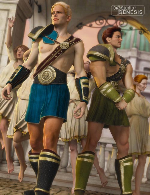 [Update] Warrior Outfit Textures