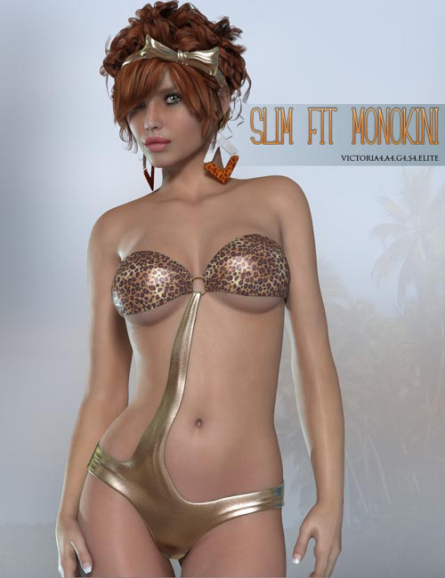Slim-Fit Monokini