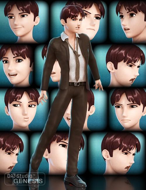 Faces of Hiro 5