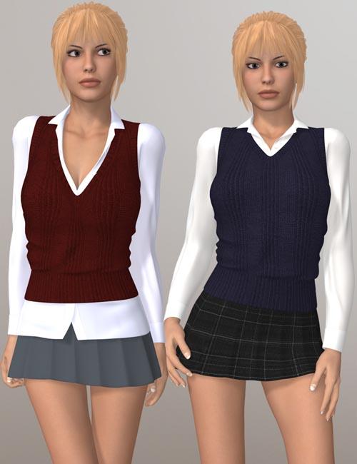 School Girl III