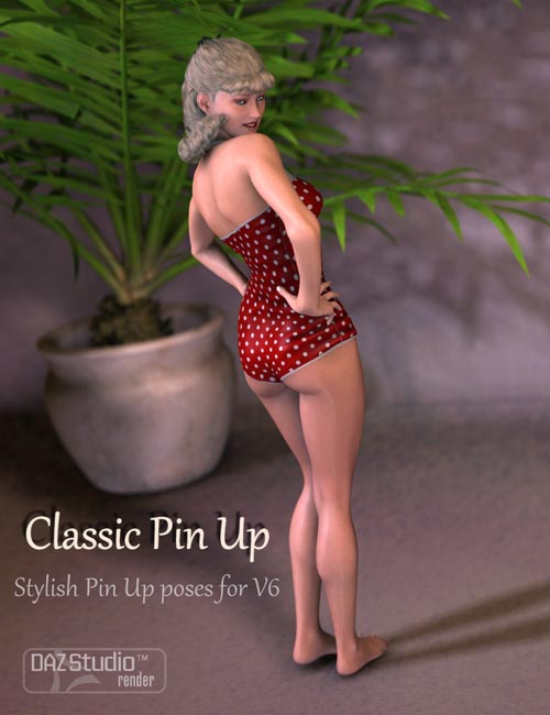 Classic Pin-Up Standing Poses for Victoria 6