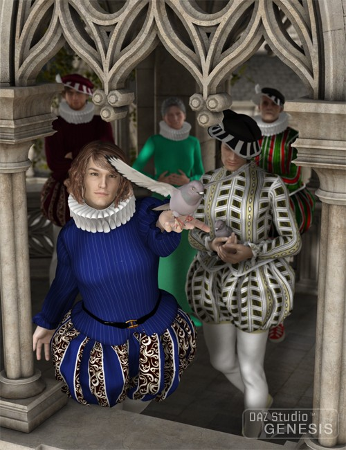 Renaissance Male Clothing For Genesis