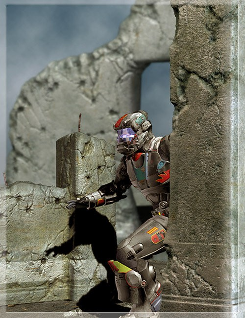 Ruins of War [ .DUF and Iray UPDATE ]