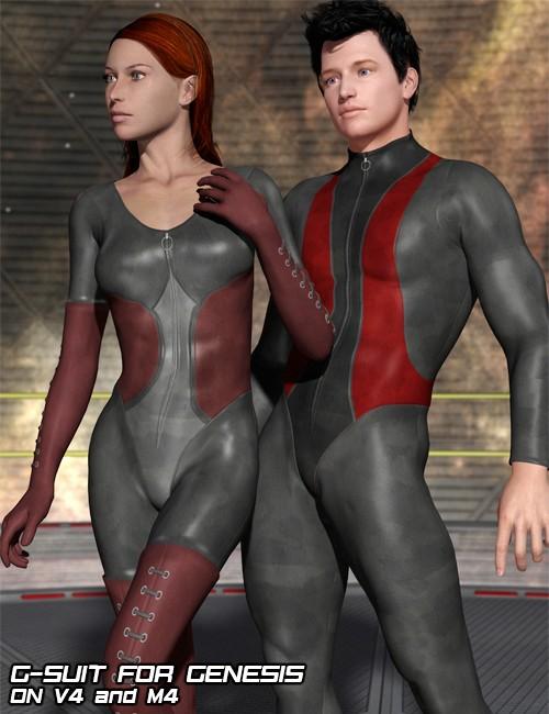 G-Suit, Bodysuit for Genesis