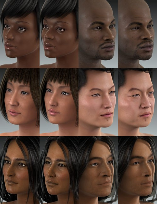 Ethnicity for Genesis Bundle