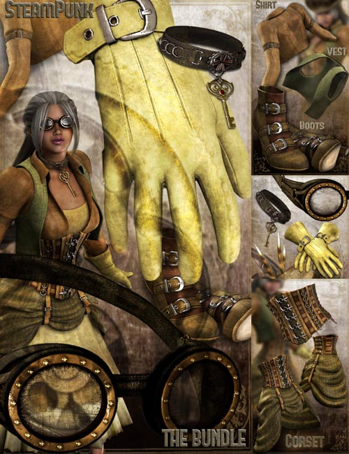 SteamPunk for V4 BUNDLE