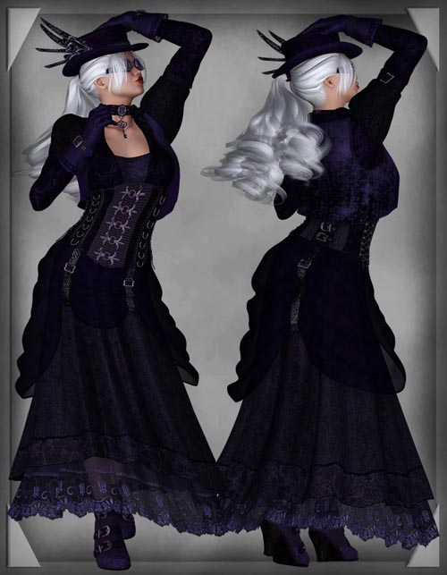 Scarlet Night SteamPunk