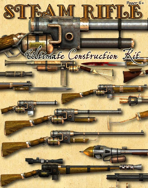 Steam Rifle - Ultimate Construction Kit