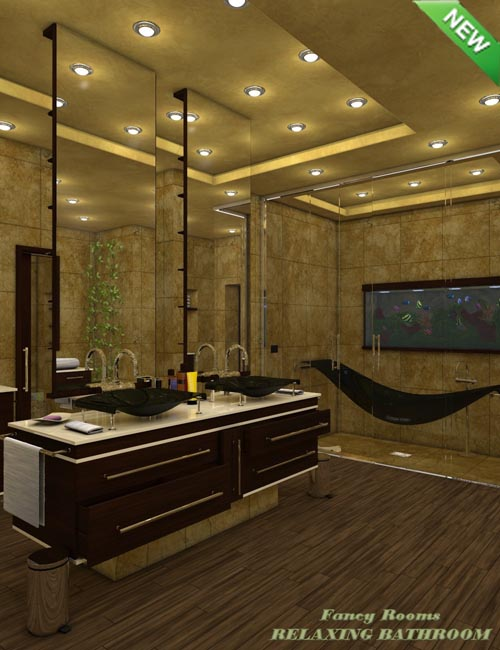 Fancy Rooms - Relaxing Bathroom